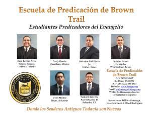 Brown Trail escuela